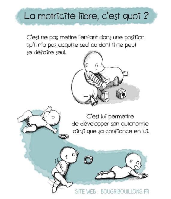 Osteopathie motricité libre bébé Vaucluse